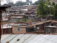 Der Slum von Mathare, Nairobi, Kenia
